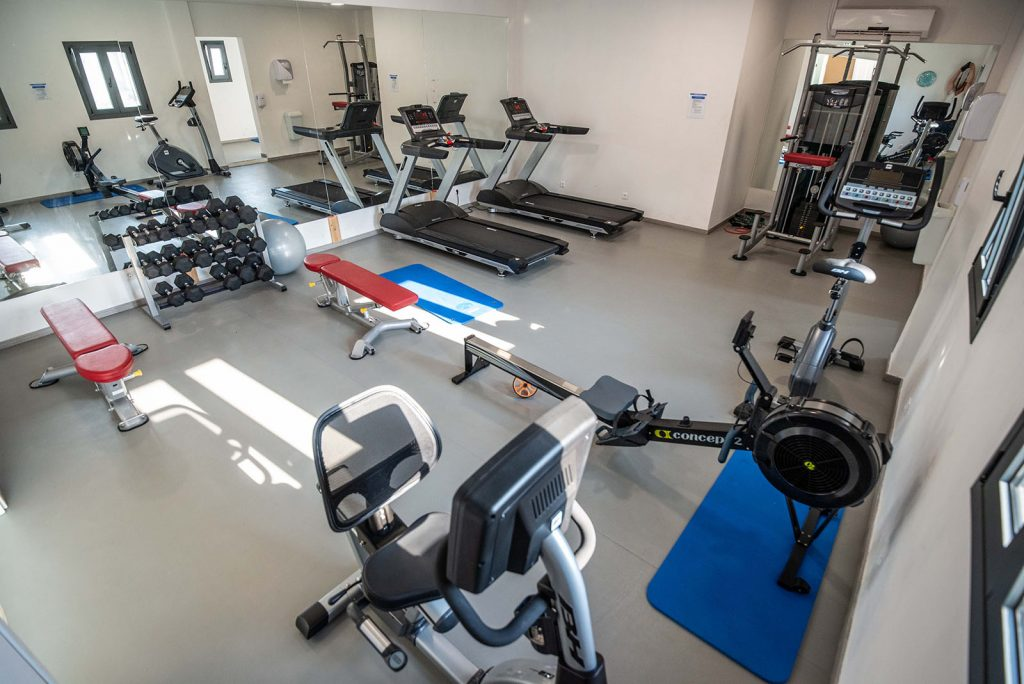 Paleros Beach Resort Hotel Gym