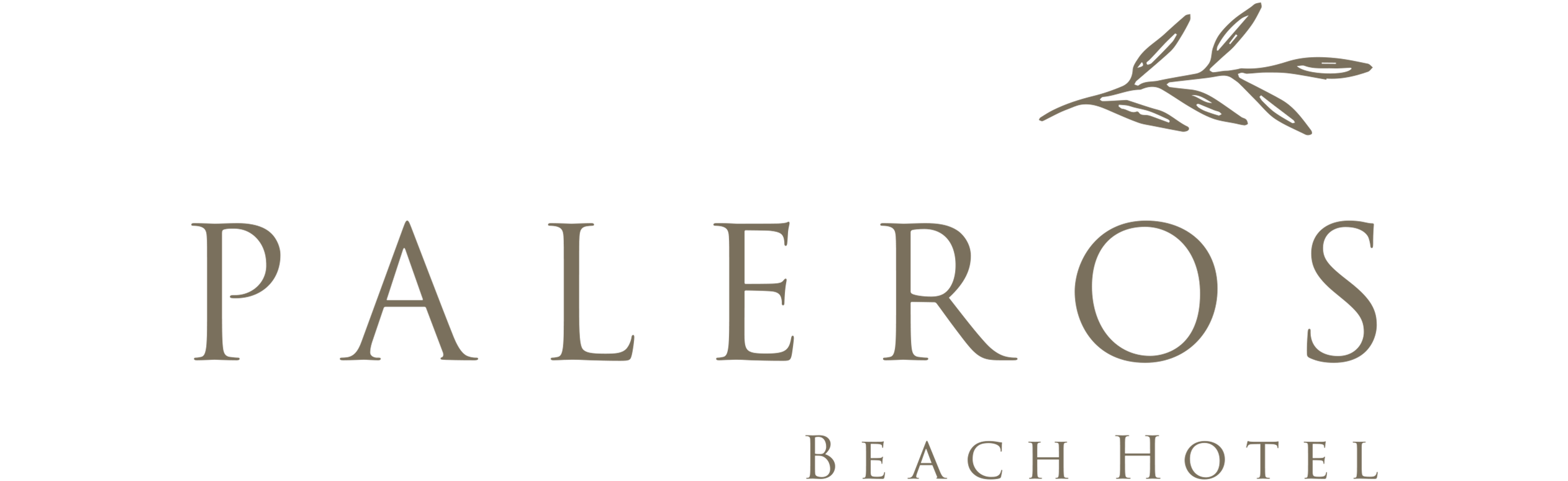 Paleros Beach Resort Main Logo
