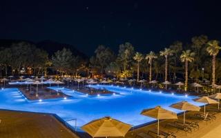 Paleros Beach Resort Luxury Hotel Pool Gallery 1