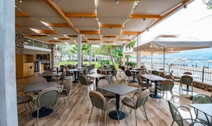 Paleros Beach Resort Luxury Hotel Restaurant 2