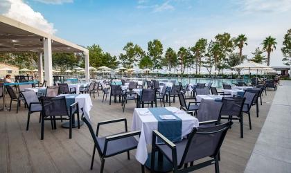 Paleros Beach Resort Luxury Hotel Restaurant 4