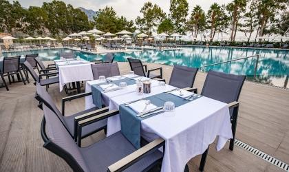 Paleros Beach Resort Luxury Hotel Restaurant 5